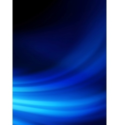 Blue smooth twist light lines background eps 10 vector