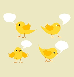 Chickens vector image vector image