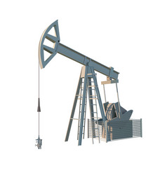 Petroleum rig oil drill isolated image vector