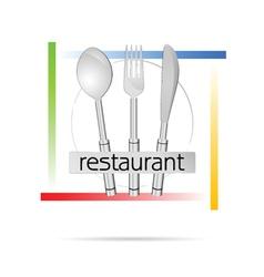 Restaurant sign vector