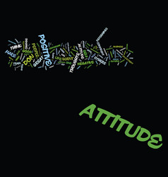 Attitude determines altitude text background word vector