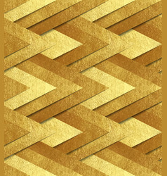golden metallic seamless pattern vector image