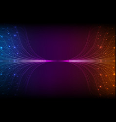 abstract violet lines mesh vector image