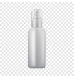 Cosmetic spray icon realistic style vector