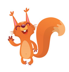 221squirrel vector image