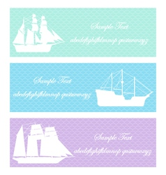Boat sea shipping vector