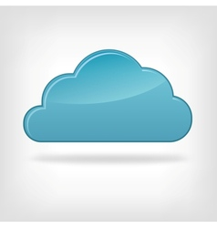 Icon Cloud vector image