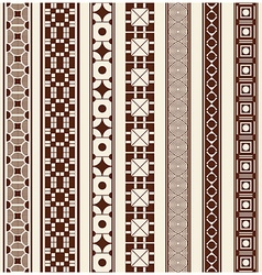 Decoration elements patterns vector