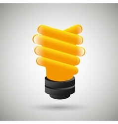 Bulb eco design vector