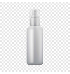 Cosmetic spray icon realistic style vector