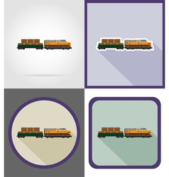 Delivery flat icons 11 vector