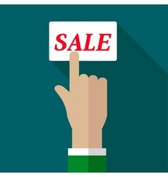 Sale icon web vector