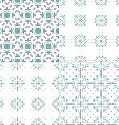 Blue patterns vector