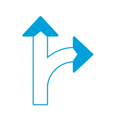 arrows icon image vector image vector image
