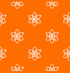Molecules of atom pattern seamless vector