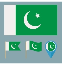 Pakistancountry flag vector