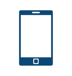 smartphone mobile cell vector image vector image