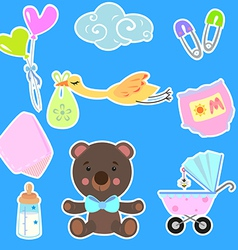 baby2 vector image