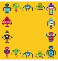 Robot concept design vector