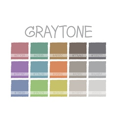 Graytone color tone vector