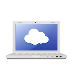 cloud computing sign vector image