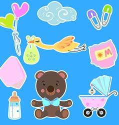 baby2 vector image vector image
