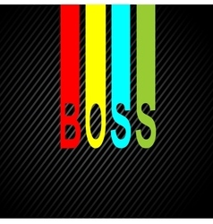 boss day holiday design background vector image vector image