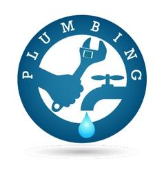 Repair plumbing design vector image vector image