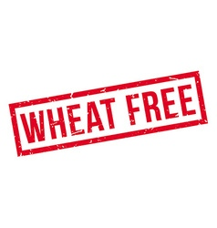 Wheat Free rubber stamp vector image