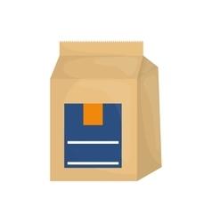 Baking powder bag vector