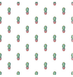 Notocactus pattern seamless vector