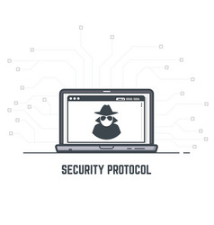 Security protocol vector