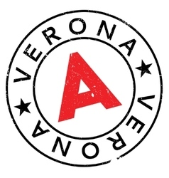Verona stamp rubber grunge vector