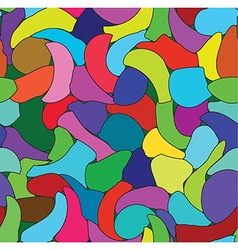 Abstract color seamless pattern vector