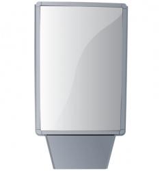 billboard stand vector image vector image