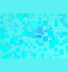 blue turquoise glowing various tiles background vector image