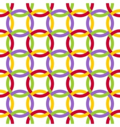 Twisted circles vector