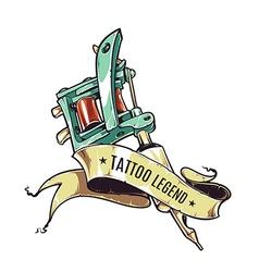 Tattoo Legend vector image