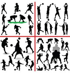 Sports mix vector