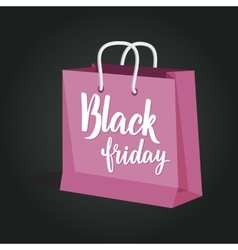 Black friday sale of paper vector