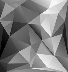 abstract background with triangles vector image vector image