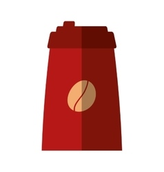 Coffee drink beverage isolated icon vector