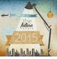 New years 2015 design vector