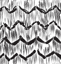 Sketchy hand drawn abstract seamless pattern vector image vector image