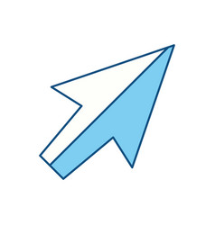 Click arrow cursor vector