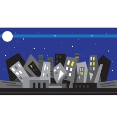 Night city - vector