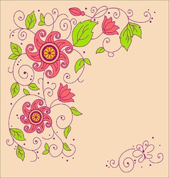 Image flower vector