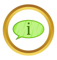 Answer icon vector
