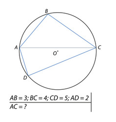 finding diagonals of the quadrilateral vector image vector image