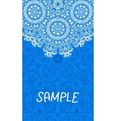 Flyer wedding or invitation card vertical banner vector